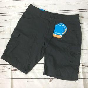 Columbia Omni-Shade Sun Protection Shorts, Size 8